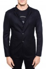 Blazer with notch lapels od Emporio Armani
