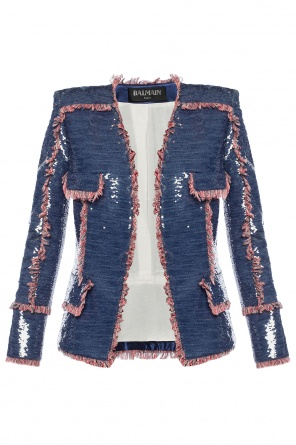 Sequinned jacket od Balmain