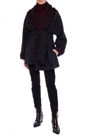 Embroidered coat od Etro