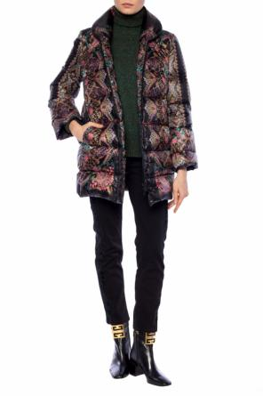 Quilted down jacket od Etro