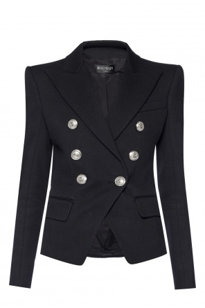 Double-breasted blazer with pockets od Balmain