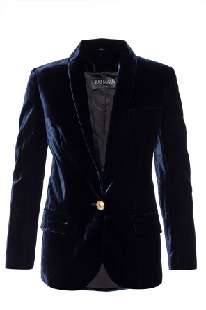 Blazer with structured shoulders od Balmain