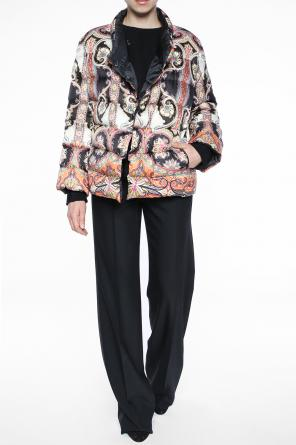 Paisley quilted jacket od Etro