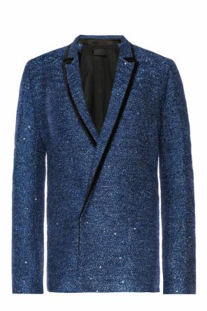 Sequinned cropped coat od Haider Ackermann