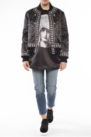 Patterned bomber jacket od Givenchy