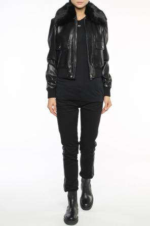 Detachable collar jacket od Givenchy