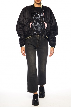 Gathered cropped jacket od Haider Ackermann