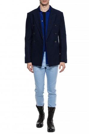 Double-breasted blazer with peak lapels od Haider Ackermann