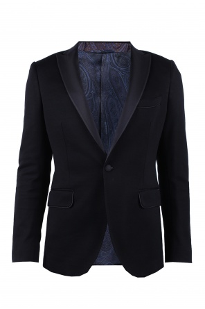 Silk finish blazer od Etro