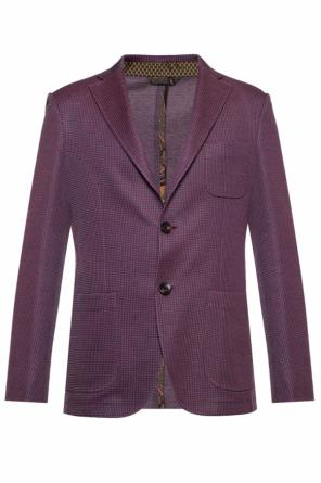 Embroidered blazer od Etro