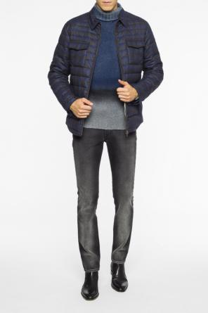 Checked quilted jacket od Etro