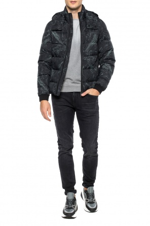 Patterned down jacket od Etro