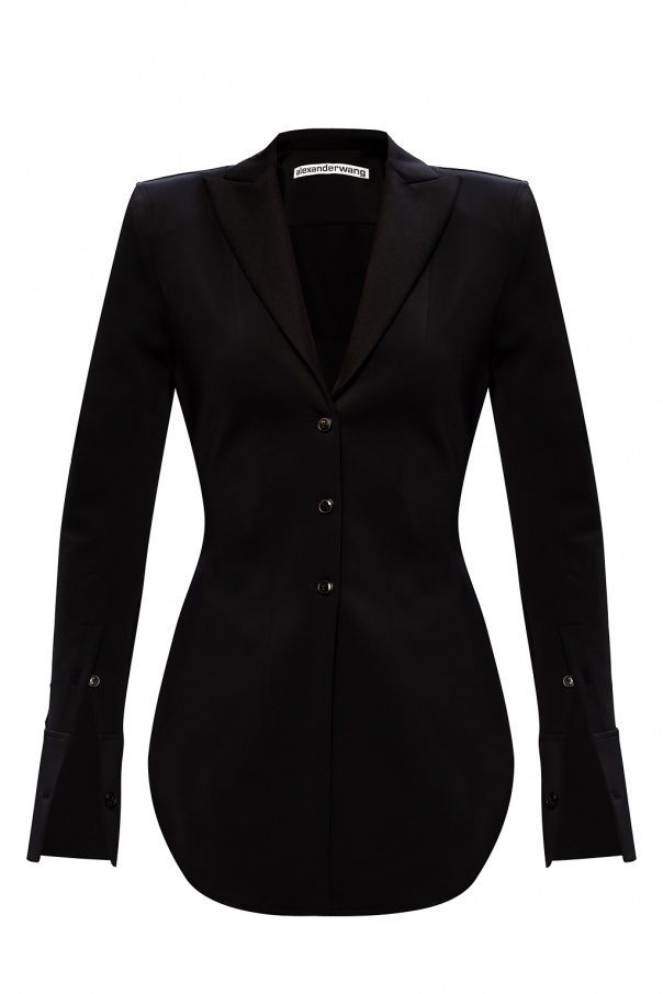 T by Alexander Wang Blazer with notched lapels