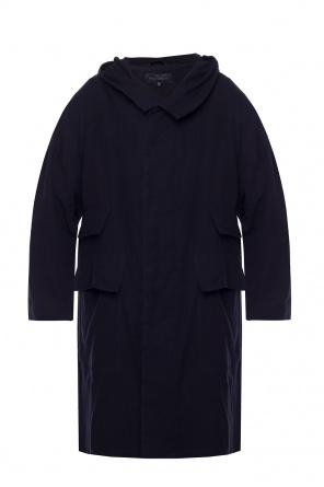Płaszcz z kapturem od Ann Demeulemeester
