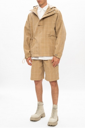 'quadri' hooded jacket od Jacquemus