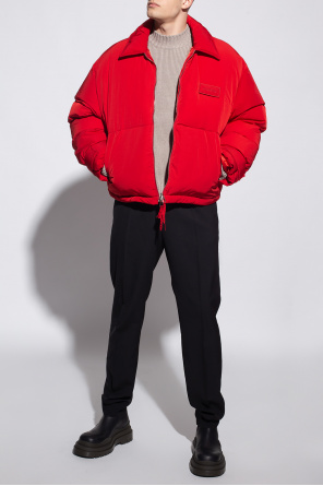 Insulated jacket with logo od Jacquemus