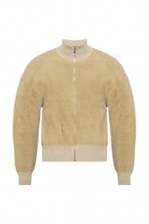 'le neve' furry sweatshirt od Jacquemus