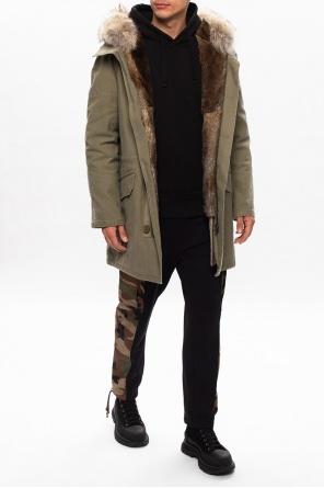 Parka with detachable fur lining od Yves Salomon