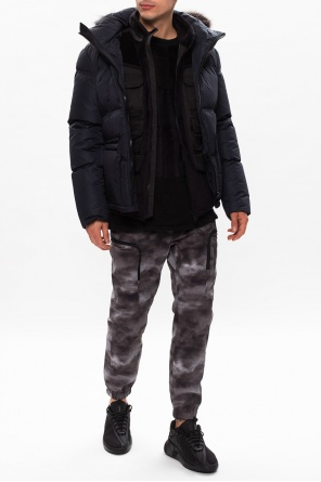 Hooded down jacket od Yves Salomon