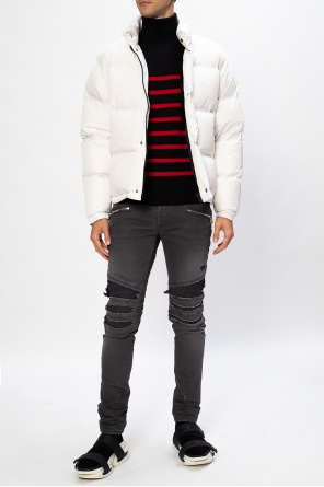 Down jacket with rabbit fur od Yves Salomon