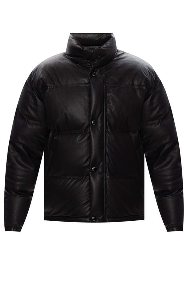 Yves Salomon Quilted down jacket