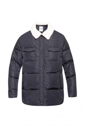 Down jacket with collar od Yves Salomon