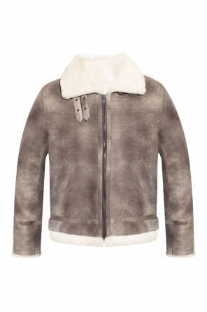Shearling coat od Yves Salomon