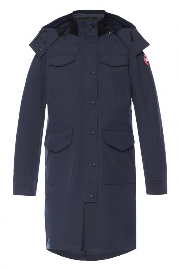 Canada Goose 'Reid' long hooded jacket