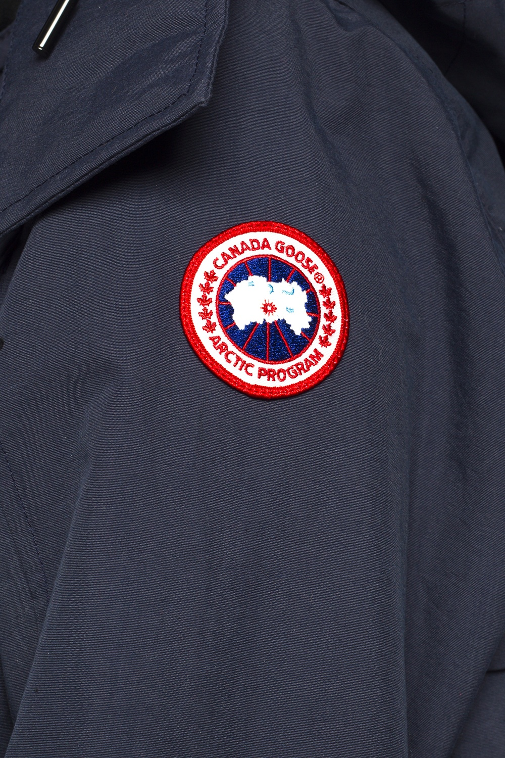 Canada Goose 'Reid' long hooded jacket