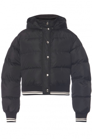 Down jacket with detachable hood od MSGM