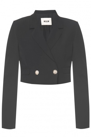Raw edge blazer od MSGM