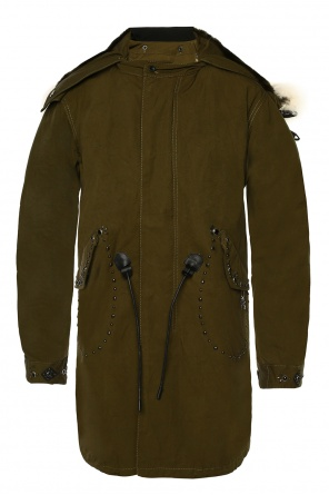 Parka with detachable jacket od Coach