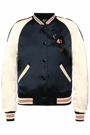 Reversible bomber jacket od Coach