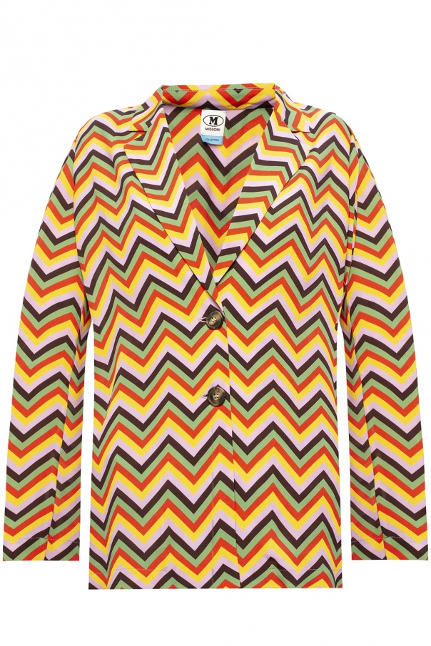 M Missoni Patterned blazer