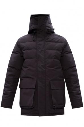 'wedgemount' jacket with split hood od Canada Goose