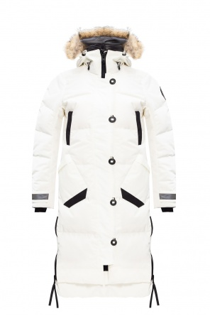 Hooded down jacket od Canada Goose