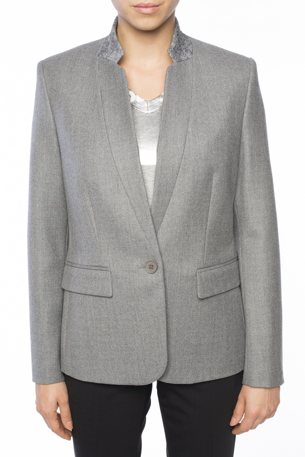 Band collar blazer od Stella McCartney