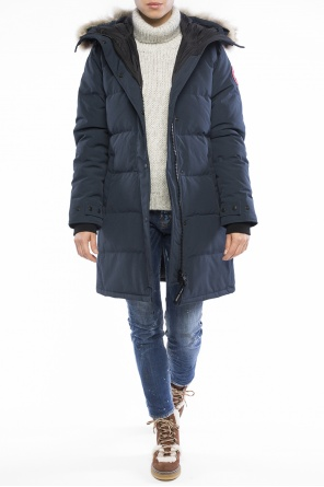 Hooded quilted jacket od Canada Goose