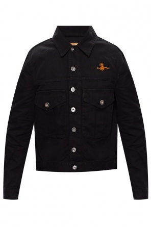 Ribbed jacket with logo od Vivienne Westwood