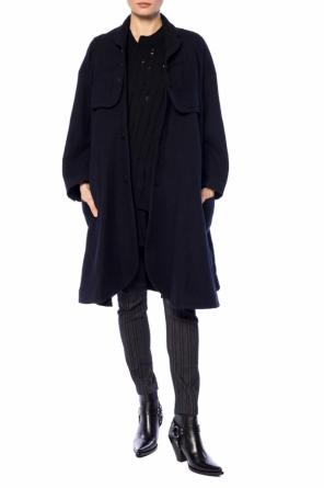 Flared coat with blazer elements od Comme des Garcons Ninomiya