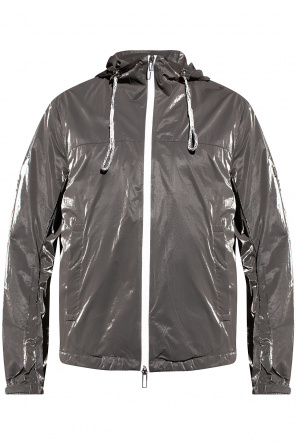 Rain jacket with logo od Emporio Armani