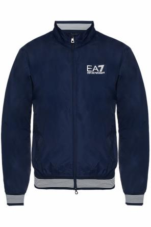Jacket with logo od EA7 Emporio Armani