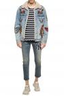 Gucci Patched denim jacket