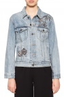 Denim jacket with sequins od Coach