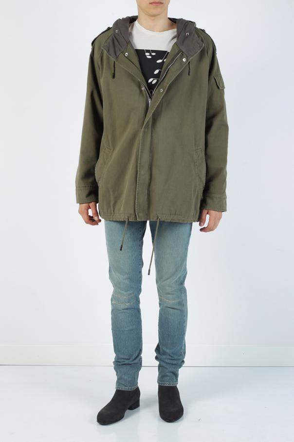Parka typu 'oversized' od Saint Laurent Paris