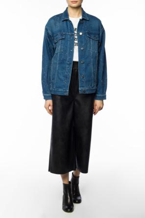 Distressed denim jacket od Stella McCartney
