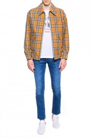 Reversible checked jacket od Burberry