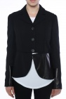 Blazer with leather inserts od McQ Alexander McQueen