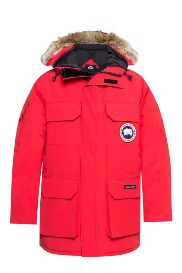 Canada Goose Hooded down jacket