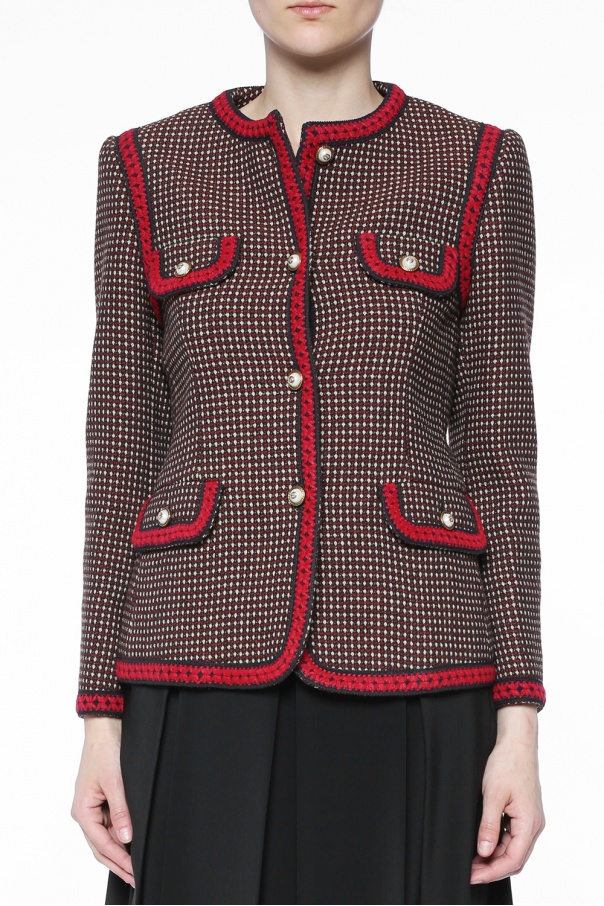 Patterned blazer od Gucci